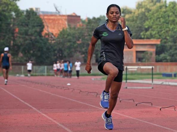 Dutee Chand, la sprinter indiana � stata al centro di un caso di iperandroginia