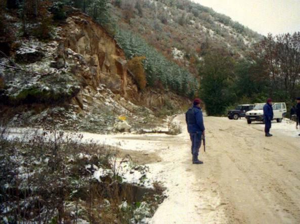 Bosnia, Gornji Vakuf luogo dell'agguato  del 29 maggio 1993