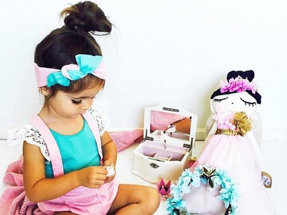 La piccola Valentina Capri (Instagram)