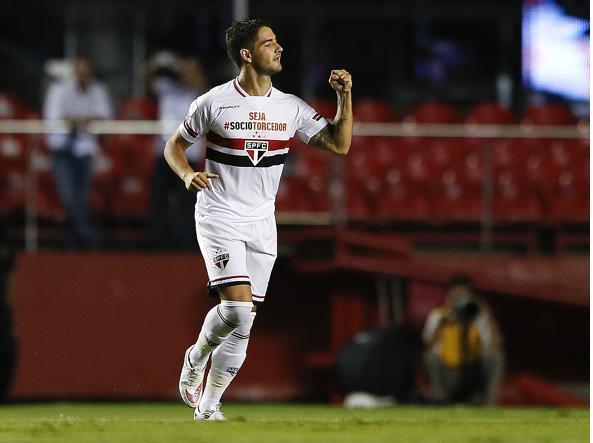 Pato con la maglia del Corinthians (Ap/Penner)
