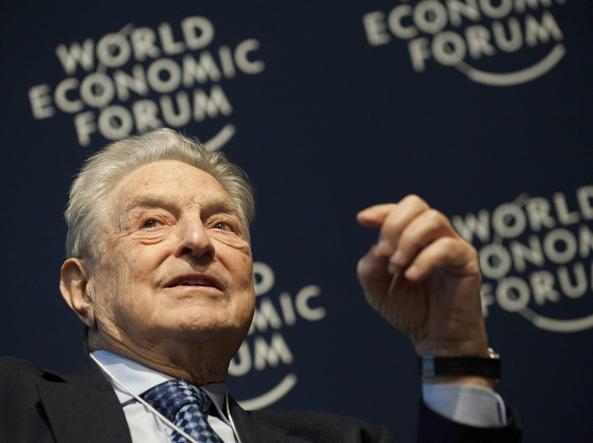 Il finanziere-filantropo George Soros