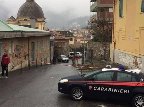 Via Monterosso a Carrara, dove è avvenuto il delitto