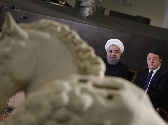Statue coperte per  RouhaniLa Sovrintendenza: «Chiedete al governo, ha fatto tutto Palazzo Chigi»