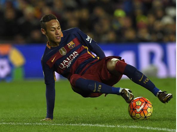 Neymar, uno degli obiettivi del Psg (Afp/Gené)