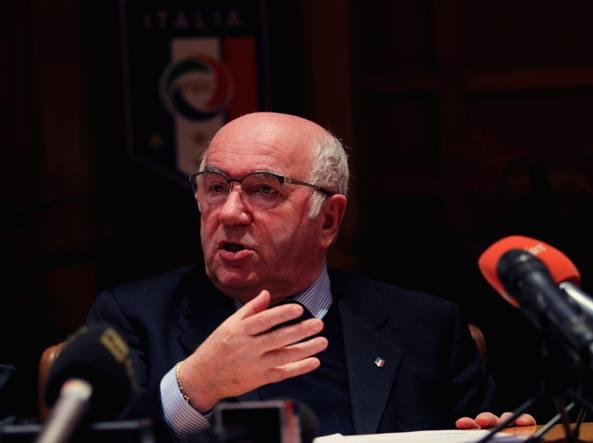 Il presidente della Figc Carlo Tavecchio (Getty Images/Bruno)