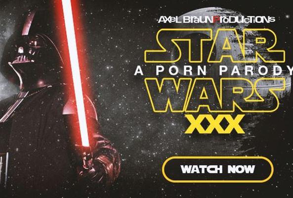 La pornoparodia di Guerre stellari (da Twitter)