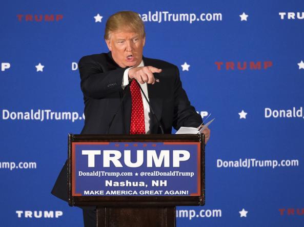 Il senatore Donald Trump, candidato democratico (Ap)