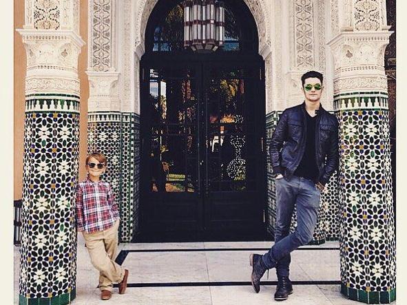 Louis Sarkozy, 18 anni, a Marrakesh: è stato lui stesso a postare la foto su  Instagram