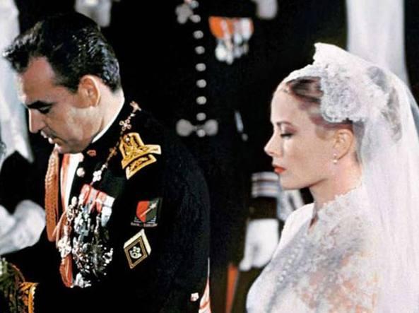Grace e Ranieri sposi nel 1956