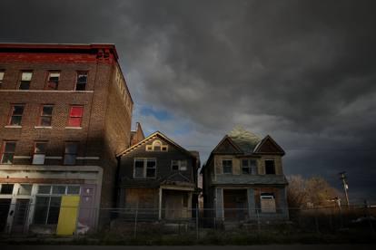 Detroit tra monumenti e rovine
