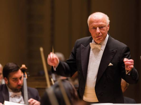 Il maestro Bernard Haitink