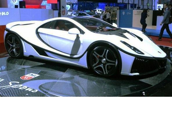 La GTA Spano, la prima supercar con il telaio in grafene e titanio