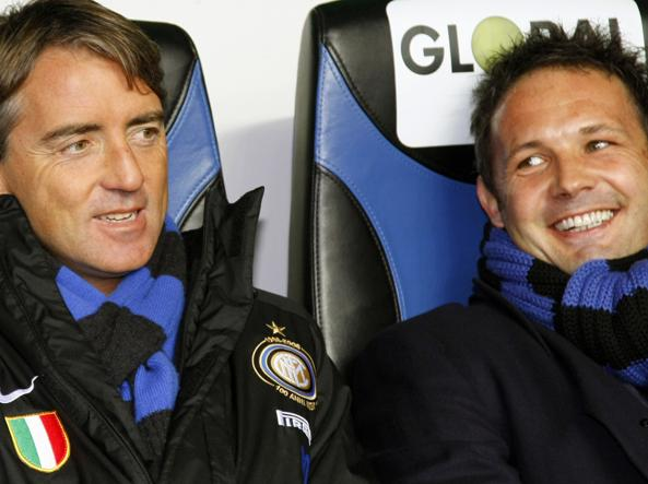 Mancini e Mihajlovic ai tempi dell'Inter (Afp)