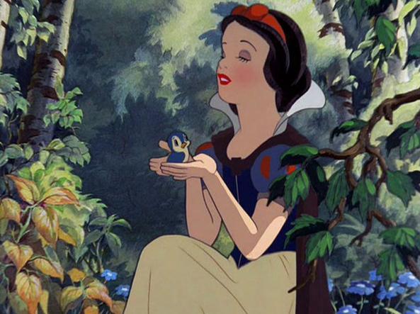 Biancaneve, cartone animato della Disney