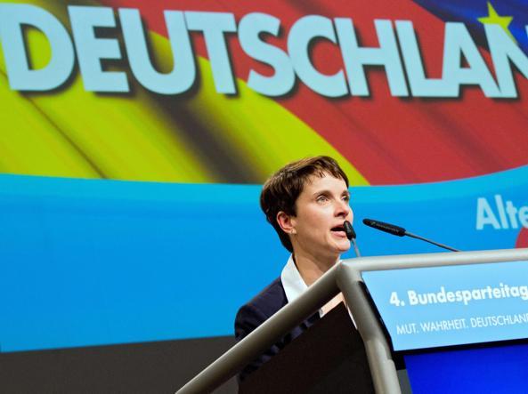 Frauke Petry, leader di Aletrnative für Deutschland (Epa)