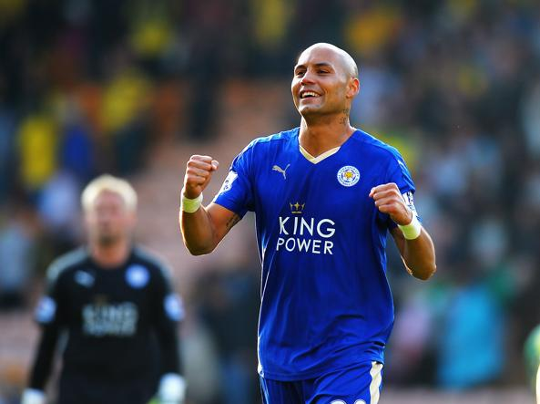 Yohan Benalouane, 28 anni, alla Fiorentina in prestito dal Leicester (Getty Images/Marshall)