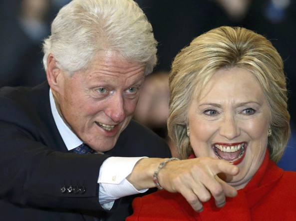Bill e Hillary Clinton (Reuters/Latif)