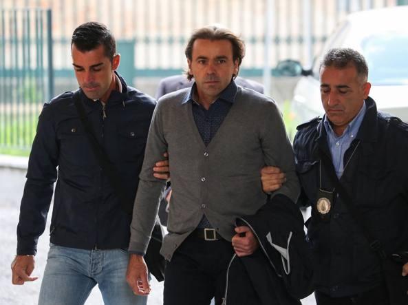 Michele Buoninconti in una foto d'archivio mentre si reca in tribunale (LaPresse)