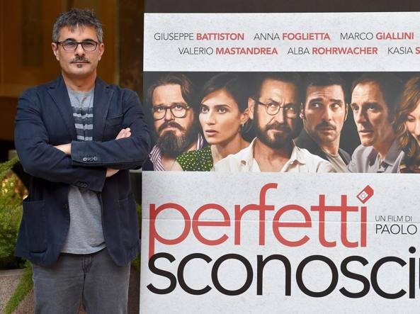 Il regista di �Perfetti sconosciuti� Paolo Genovese (Ansa)