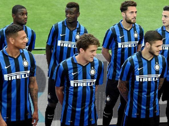 La presentazione della maglia 2015/16 (Inter.it)