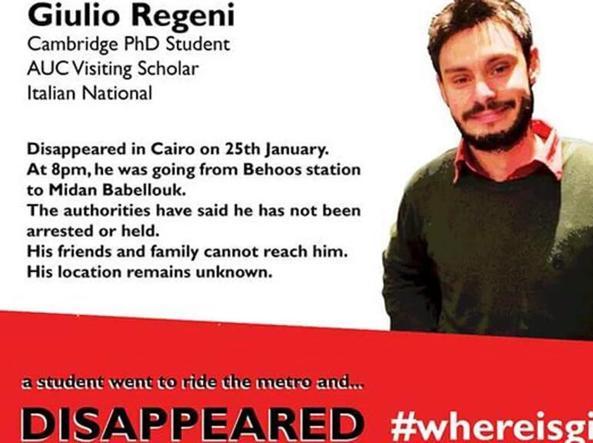 La campagna online «Dov'è Giulio?»