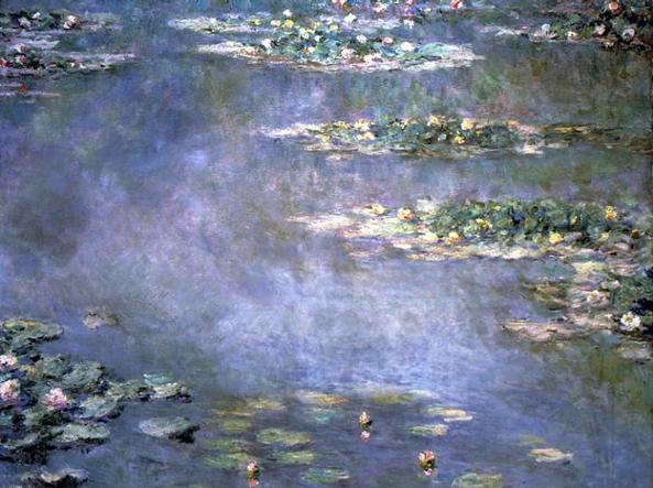Le mitiche Ninfee di Claude Monet. Anche  �n�nuphar� d'ora in poi si scriver� in modo pi� semplice: �n�nufar�, proprio come si pronuncia
