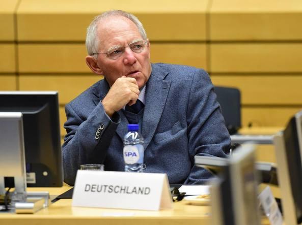 Il ministro delle Finanze tedesco, Wolfgang Sch�uble