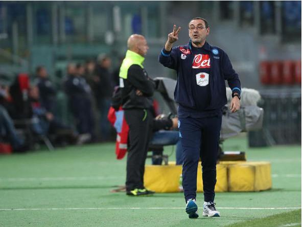 Maurizio Sarri (Ansa)