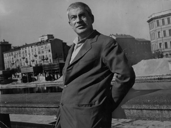 Elio Vittorini (1908-1966) a Milano negli anni Sessanta (foto di Uliano Lucas)