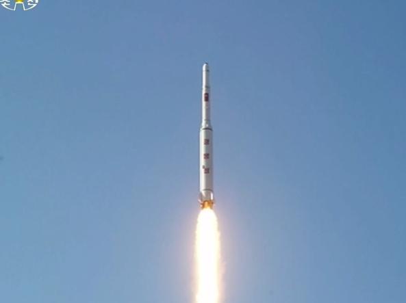 Il lancio (Reuters)