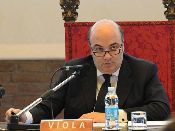 L'amministratore delegato di Mps Fabrizio Viola