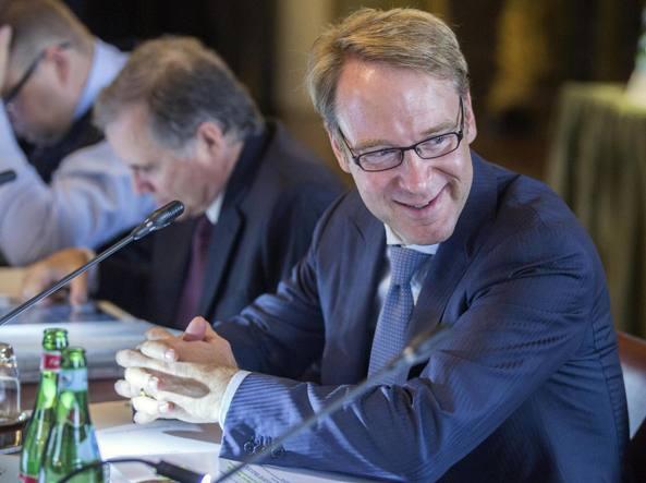 Il presidente della Bundesbank Jens Weidmann