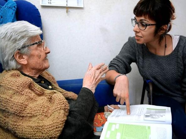 Pietra Coniglio, 101 anni. Ancora insegna
