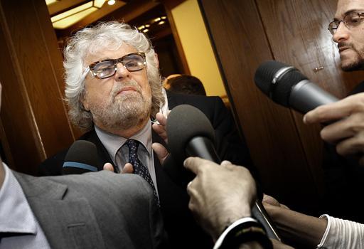 Beppe Grillo, fondatore con Gianroberto Casaleggio del Movimento 5 Stelle (Ansa)