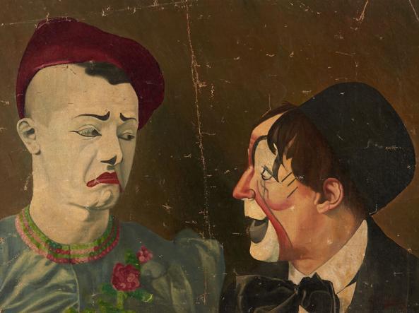 Giovanni Freducci «Francois et Albert Fratellini», 1907 circa (Artcurial)