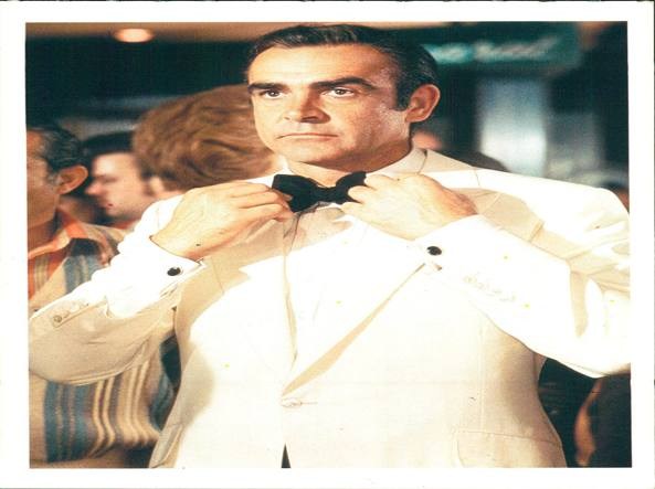 Sean Connery  in «Agente 007 – Missione Goldfinger»
