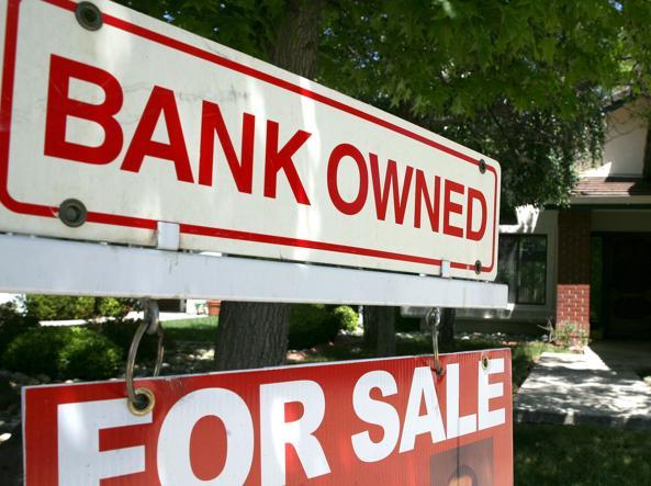 Una casa pignorata dalla banca e poi messa in vendita