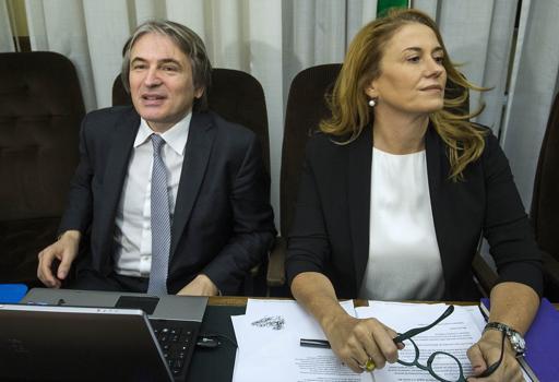 Antonio Campo Dall'Orto e Monica Maggioni , a.d. e presidente  della Rai