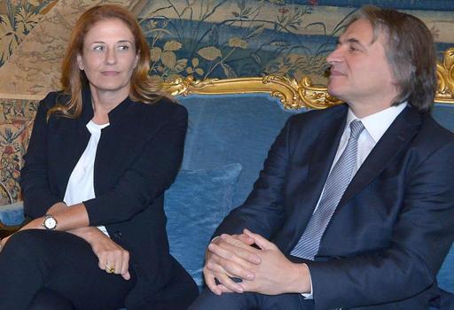 Monica Maggioni e Antonio Campo Dall'Orto, presidente e  ad della Rai (Ansa)