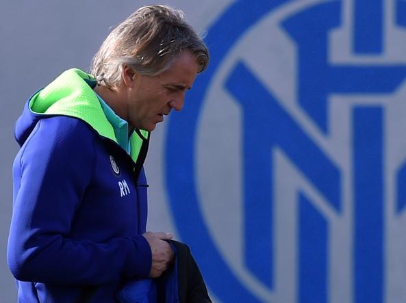Roberto Mancini, 51 anni, allenatore dell'Inter (Getty Images)