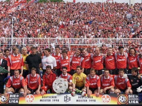 Il Kaiserslautern campione di Germania nella stagione 1997-98