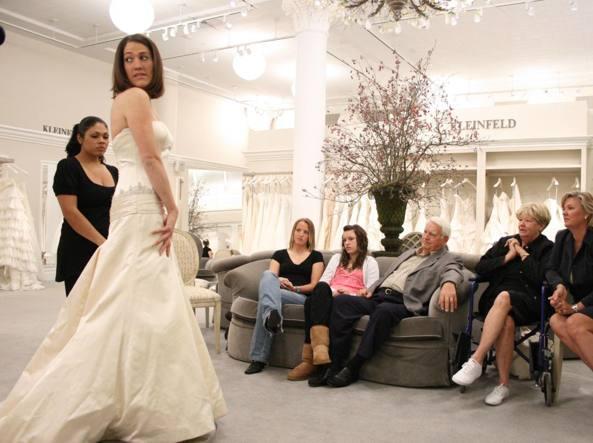 Una scena della serie tv «Abito da sposa cercasi»