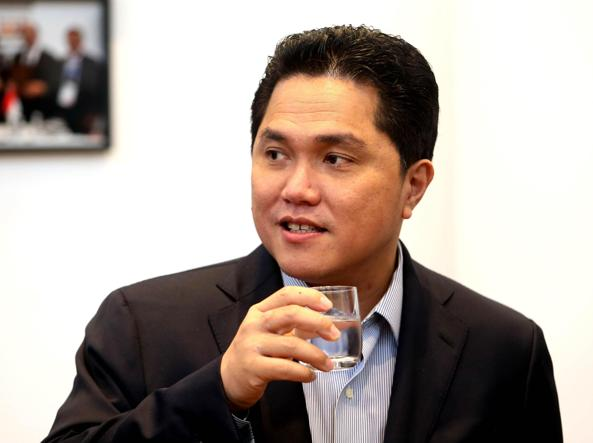 Erick Thohir (Ansa)