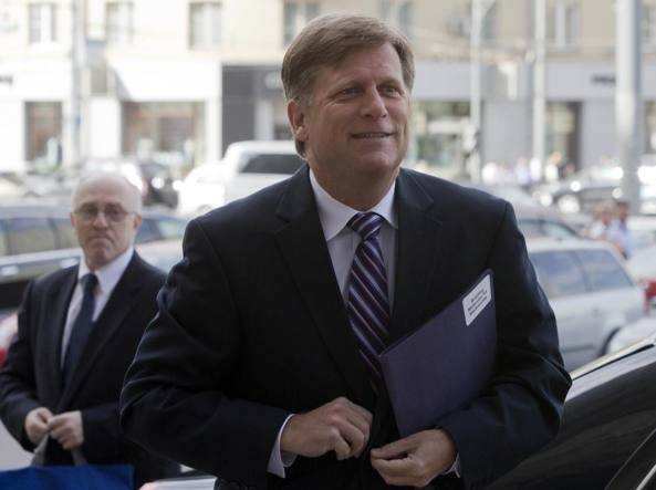 Michael McFaul, 52 anni: oggi insegna all'università di Stanford in California (Afp)