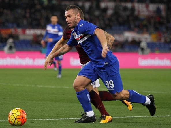 Antonio Cassano in azione (Getty Images/Bruno)
