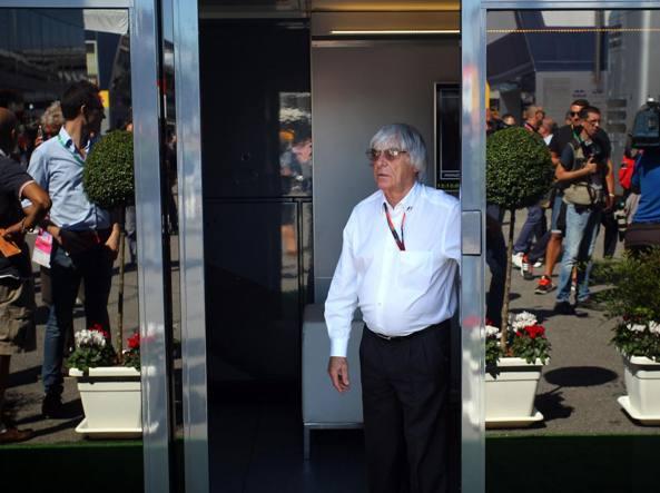 Bernie Ecclestone, 85 anni, patron della Fom (Lapresse)