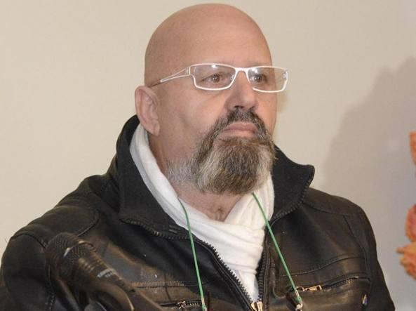 Bruno Poeti, il 64enne ex poliziotto grossetano che all'alba di lunedì ha sparato a un gruppo di romeni che si erano introdotti nel suo terreno, ferendone uno (Ansa)