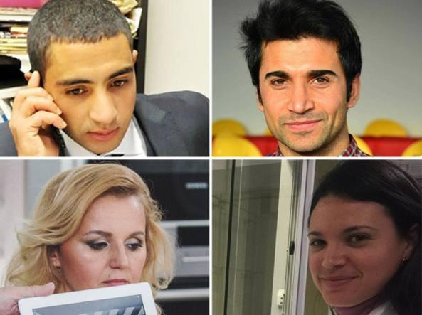 Da sinistra ijn alto in senso orario: Rachid Khadiri, Ahmed Fadhil, Suset Barroso, Olga Kozarevska