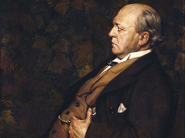 Lo scrittore Henry James (1843-1916)