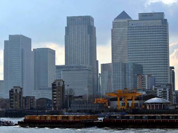 Il quartiere finanziario di Londra, Canary Wharf
